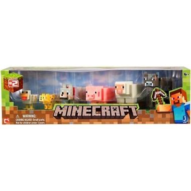 Minecraft, 6-Pack Animals 6 cm