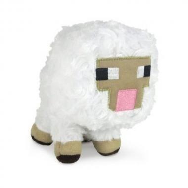 Jucarie plus Minecraft, Baby Sheep 13 cm