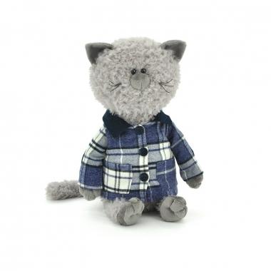 Buddy the Cat in a jaket 30 cm