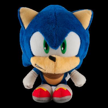 """Jucarie plus """"Big Head"""", Sonic 20 cm"""