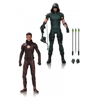 DC TV Action Figure 2-Pack Arrow & The Flash 17 cm
