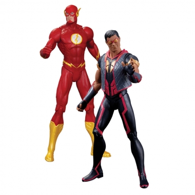 The New 52, The Flash vs Vibe 18 cm 2-pack
