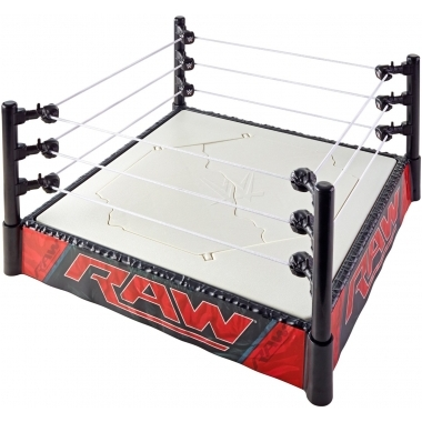 Ring RAW WWE Superstar - Breakable Ring!