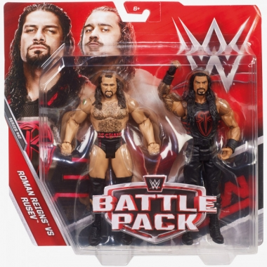 Rusev & Roman Reigns - WWE Battle Packs 47