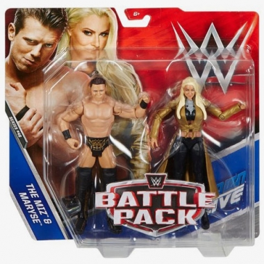 Miz & Maryse WWE Battle Packs 46