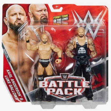 Luke Gallows & Karl Anderson WWE Battle Packs 46