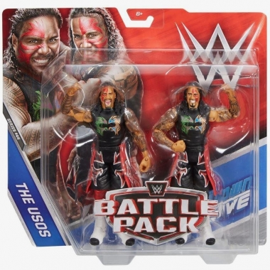 The Usos (Jimmy Uso & Jey Uso) WWE Battle Packs 44