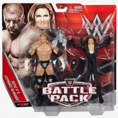 Stephanie McMahon & Triple H - WWE Battle Packs 42