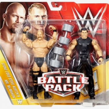 Mr. McMahon & Stone Cold Steve Austin - WWE Battle Packs 40