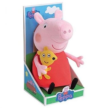 Jucarie plus Peppa Pig, 25 cm (suport cadou)