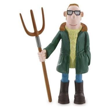 Shaun the Sheep Mini Figure Farmer 8,5 cm